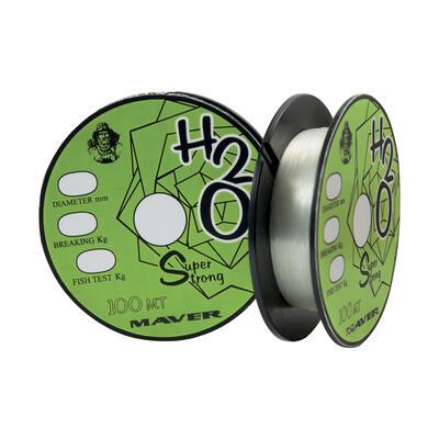 Fir Monofilament Maver Smart H2O, Clear, 100m 0.20mm 3.00kg