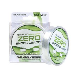Fir Inaintas Conic Maver Zero Shock Leader, Clear, 10x15m/rola 0.16-0.48mm