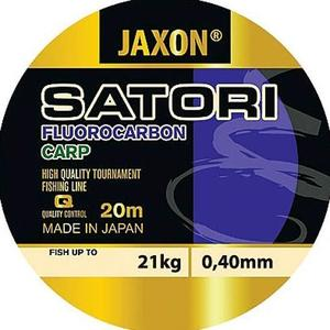 Fir fluorocarbon Jaxon Satori Carp 0.40mm/21kg/20m