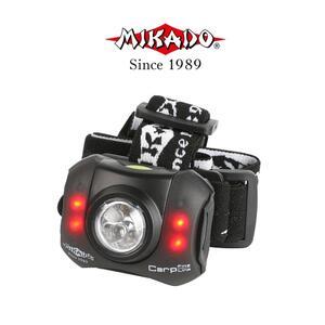 LANTERNA CAP MIKADO 5+4 LED  2207
