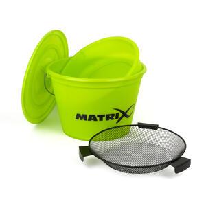 Galeata Matrix Fishing Lime Bucket Set, 20l