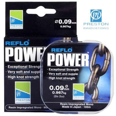 FIR MONOFILAMENT PRESTON REFLO POWER - 100m