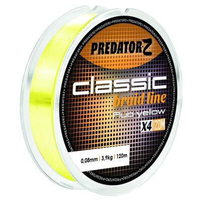 Fir textil Carp Zoom Classic Braid Fluo Yellow 0.14mm/8.1kg/120m