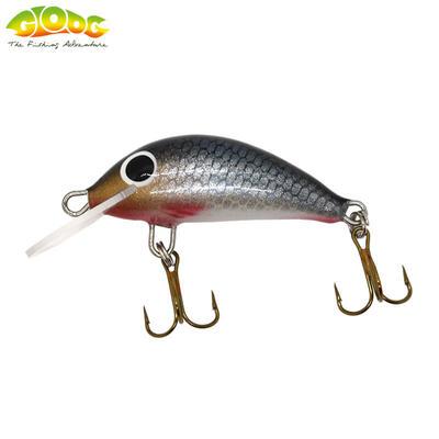 Vobler Gloog Hektor 35N - 3.5cm/2gr (Floating) - RS (Roach Silver)