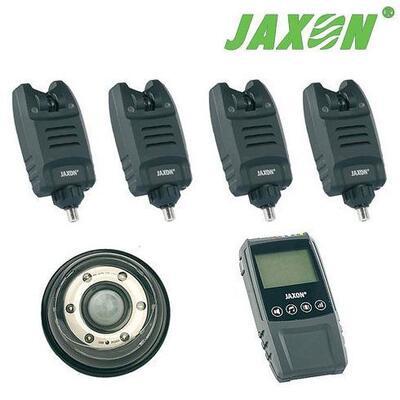 Set 4 avertizori + statie + lampa Jaxon XTR Carp Sensitive Magic