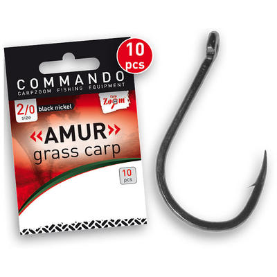 Carlige Carp Zoom Amur-Grass Carp, 10buc/plic Nr.1/0