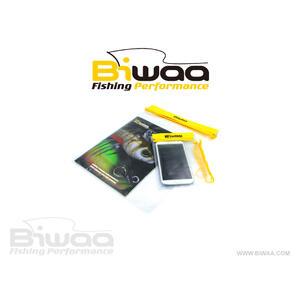 Husa Impermeabila pentru Acte/Telefon Biwaa Dry Bag, 34.5x26cm