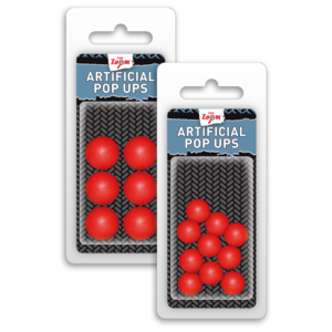 POP UPS ARTIFICIALI 10mm Rosu 10/plic