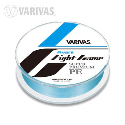 Fir textil Varivas Avani Light Game 4x PE 0,070mm, 5lb, 100m