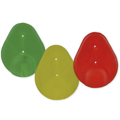 Clip S Avertizor Carp Zoom, 3 Culori, 3buc/set
