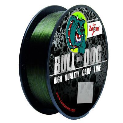 Fir monofilament Carp Zoom Bull-Dog 0,25mm/8,8kg/1000m - Dark Green