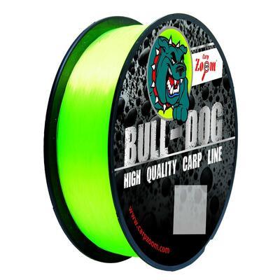 Fir monofilament Carp Zoom Bull Dog 0,35mm/15,45kg/300m - Fluo