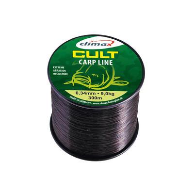 Fir monofilament Climax Cult Carp Black 0.25mm/5kg/300m