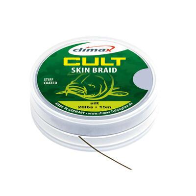 Fir textil Climax Cult Skin Braid Camou Green 20lb/15m