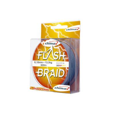 Fir Textil Climax Flash Braid, Grey, 100m 0.35mm 30.0kg