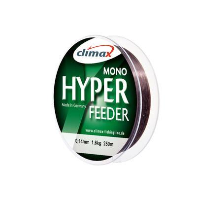 Fir Monofilament Climax Hyper Feeder, Dark Brown, 250m