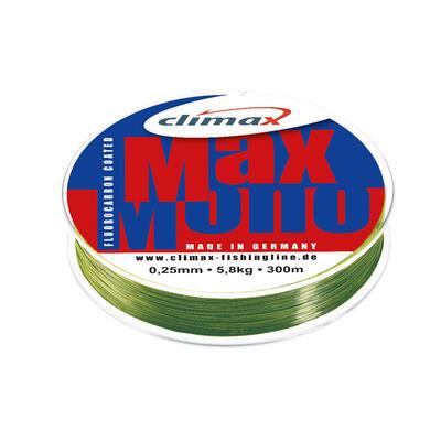 Fir Monofilament Climax Max Mono, Oliv, 100m 0.32mm 8.5kg