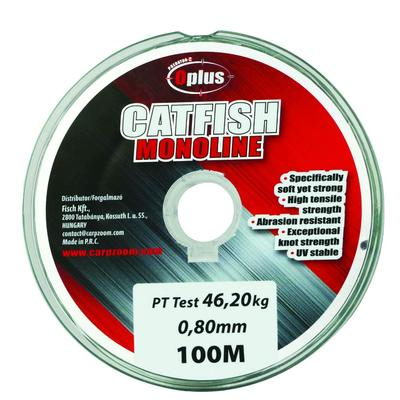 Fir monofilament Carp Zoom Predator Z Catfish Green 0.80mm/46.2kg/100m