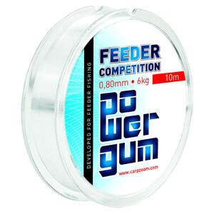 Carp Zoom Power Gum Feeder Competition 0.80mm/6kg/10m