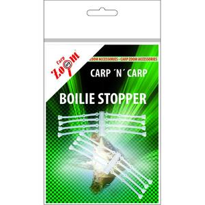 Opritoare Boilies Carp Zoom Fir de Par din Silicon Dublu: 36mm-16buc/plic
