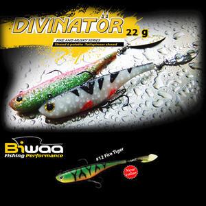 Shad Biwaa Divinator Junior 14cm/22g, culoare Fire Tiger