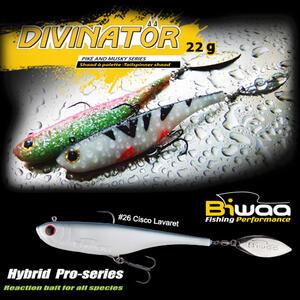 Shad Biwaa Divinator Junior 14cm/22g, culoare Cisco Lavaret