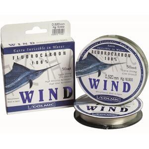 Fir Fluorocarbon Colmic Wind, Transparent, 50m 0.22mm 4.60kg