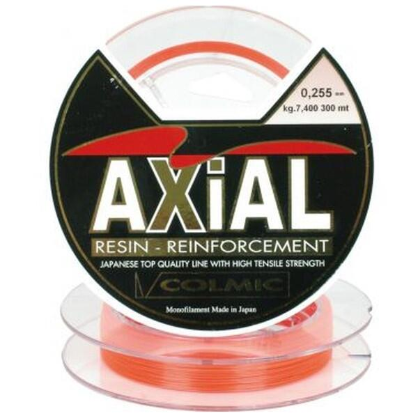 Fir Monofilament Colmic Axial, Portocaliu, 300m 0.34mm 12.72kg