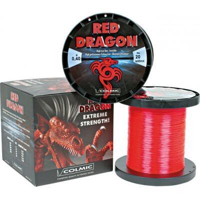 Fir Monofilament Colmic Red Dragon 600-800m 0.40mm 9.10kg 600m