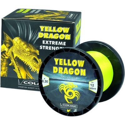 Fir Monofilament Colmic Yellow Dragon 600-800m 0.88mm 36.28kg 800m