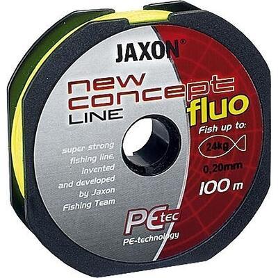 Fir Textil Jaxon Concept Line Galben Fluo 100m 0.25mm 30kg