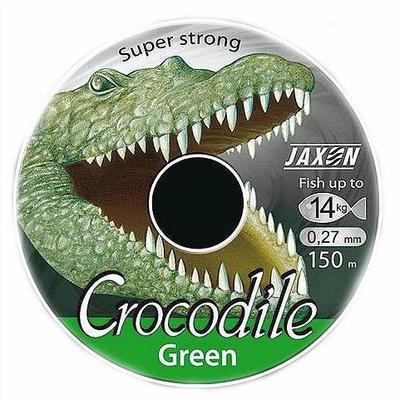 Fir monofilament Jaxon Crocodile Green 0,25mm/11kg/150m