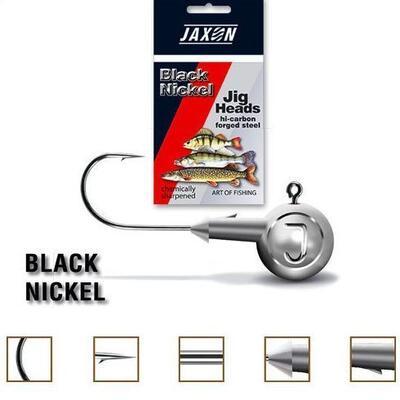 Jig Jaxon Tanami Black Nichel, carlig nr.1/0, 6gr