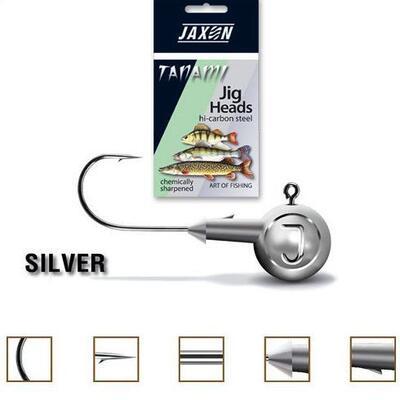 Jig Jaxon Tanami Silver, carlig nr.2, 2gr