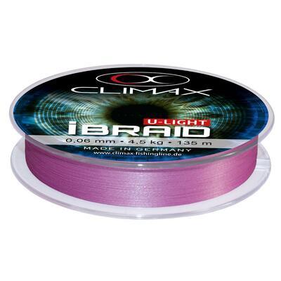 Fir textil Climax I Braid U-Light Fluo Purple 0.04mm/3kg/270m