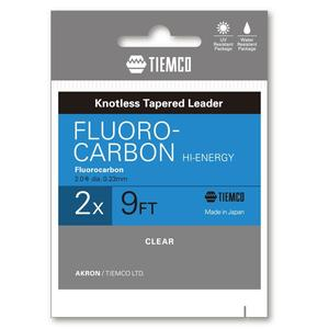 Fir fluorocarbon Tiemco Hi-Energy Leader 4X 9ft