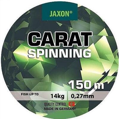 Fir monofilament Jaxon Carat Spinning 0,18mm/6kg/150m