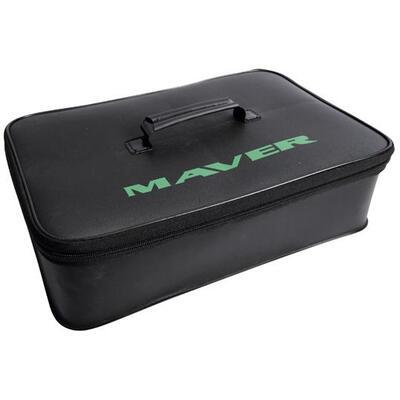 Set Maver Bait System EVA, 4 x Bac de Nada + Cutie de Transport, 42x28x10.5cm