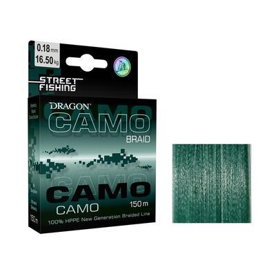 FIR TEXTIL DRAGON CAMO BRAID 0.12MM/9.75KG