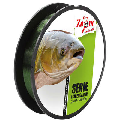 Fir monofilament Carp Zoom Extreme Amur Green 0.35mm/15.1kg/250m