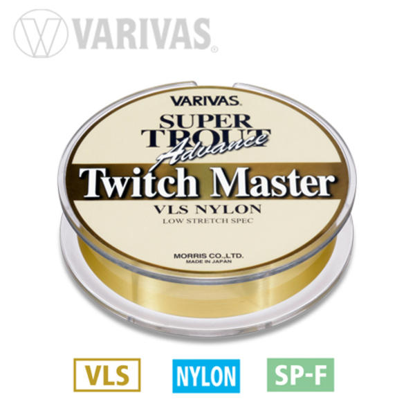 Fir Monofilament Varivas Super Trout Twich Master, Gold