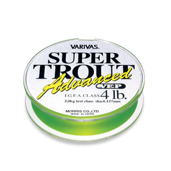 Fir Monofilament Varivas Super Trout Advance VEP, 91m 0.193mm 6lb