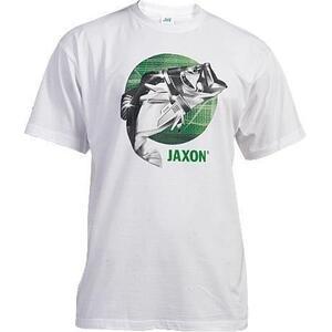Tricou Jaxon Fish Alb Marime: L