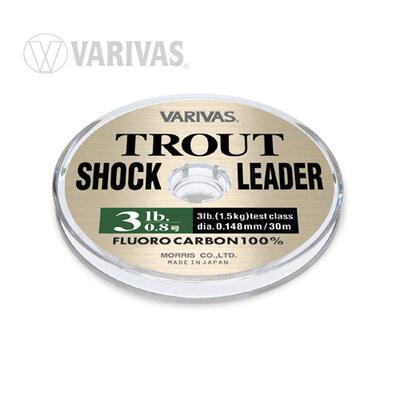 Fir Fluorocarbon Varivas Trout Shockleader 30m/0.260mm/10lb