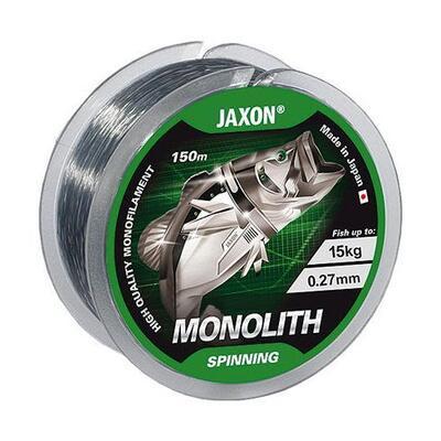 Fir monofilament Jaxon Monolith Spinning 0.18mm/7kg/150m