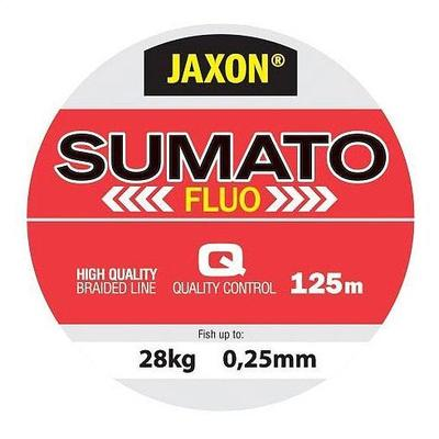 Fir textil Jaxon Sumato Fluo 0.28mm/125m